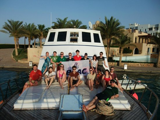 Emperor Divers Marsa Alam : group photo on Rachel