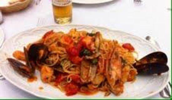 Modigliani: spagueti frutti di mare