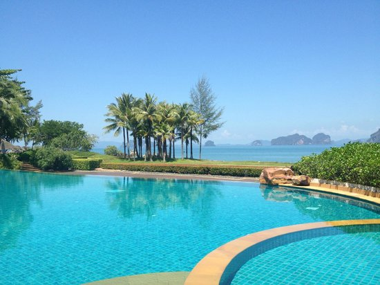 Phulay Bay, A Ritz-Carlton Reserve: view from the pool