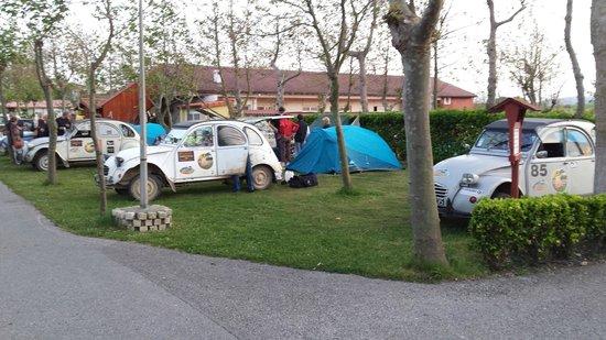 Camping Virgen del Mar: Zona de acampada.