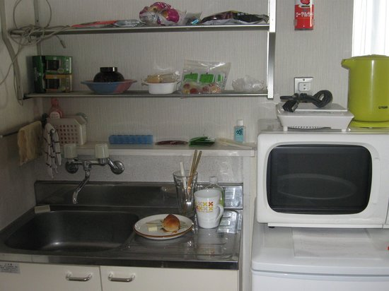 Kurumi Mansion: kitchen area