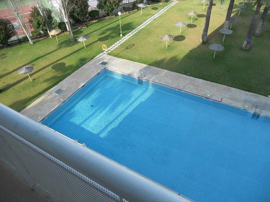 Hotel San Fermin: room view