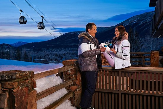 Aspen Alps Condominium Resort: Your patio right on Aspen Mountain