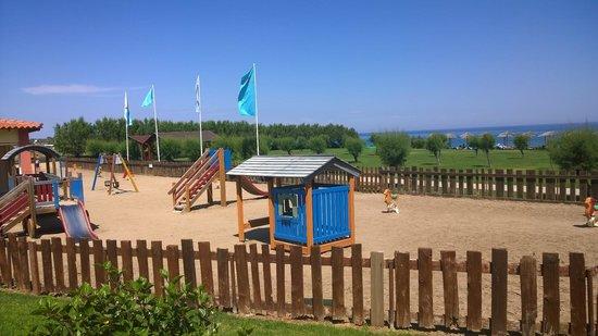 Atlantica Club Aegean Blue: play park by beach