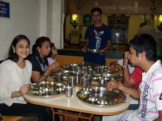 Shree Thaker Bhojanalay: Daya bhabhi at THAKER Bhojanalay.