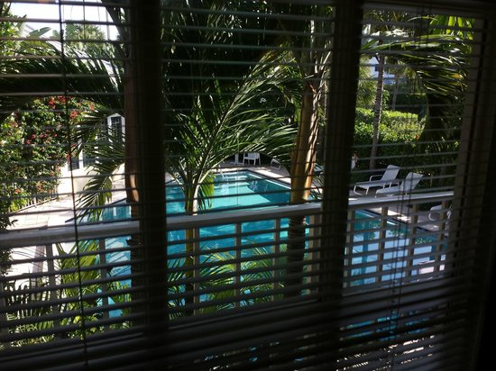 The Caribbean Court Boutique Hotel: Oases Thru the Window