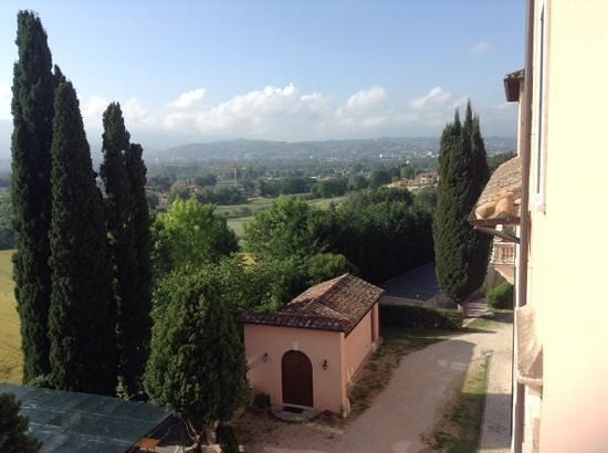 Villa Spirito Santo: vista dall alto su terni