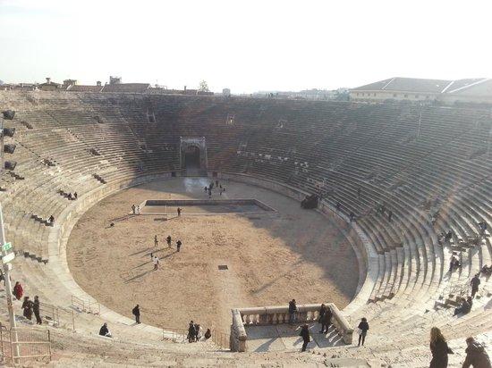 Arena di Verona: interno arena