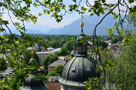 Fraulein Maria's Bicycle Tours : View from the Maria's Nunnery