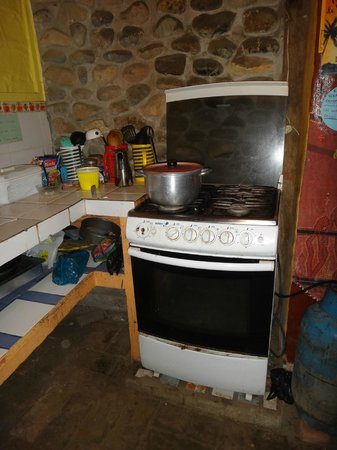 Sol Inn : Cocina