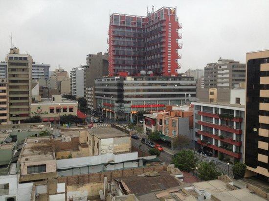 Tierra Viva Miraflores Larco: view from breakfast terrace