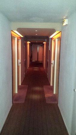 Hotel Mercure Nantes Centre Gare: Corridoio