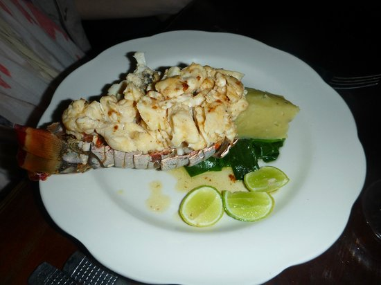 Sugar Reef Cafe: Garlic and Lime Lobster