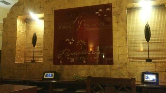 Paradisus Varadero Resort & Spa: Recepción