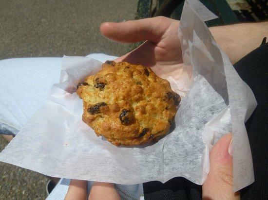 Levain Bakery : Oatmeal and raisin