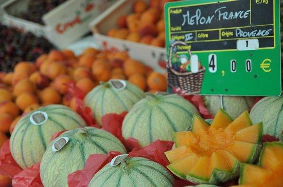Avignon Gourmet Tour : Seasonal Fruit Melon