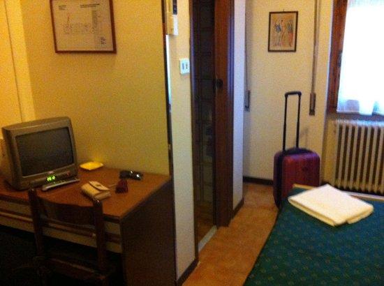 Hotel Bodoni : La stanza