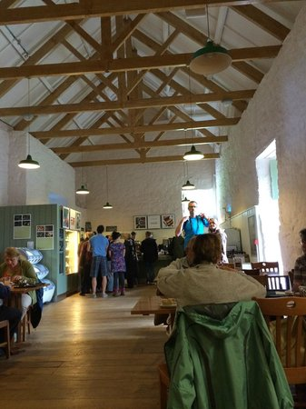 Trerice : Lunch is served