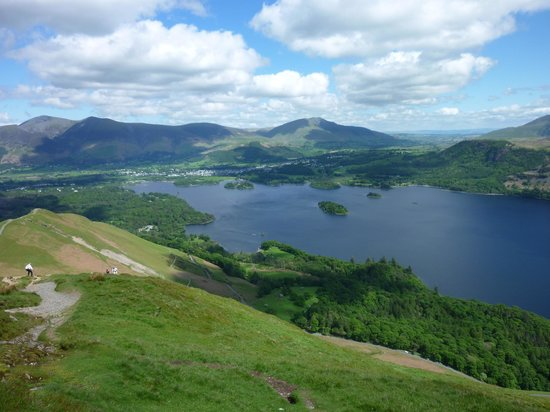 Catbells Lakeland Walk: View from the summit