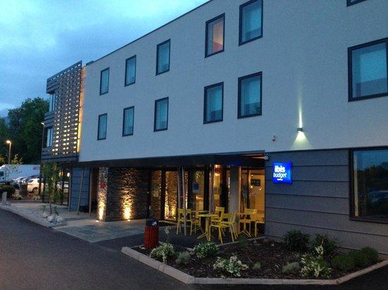 Ibis Budget Archamps Porte de Geneve: Fachada do hotel