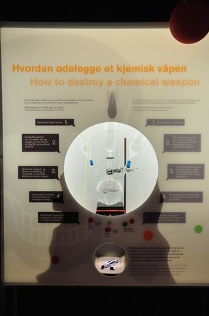 The Nobel Peace Center: OPCW Exhibit