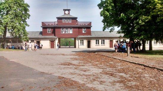 Buchenwald: Present day.