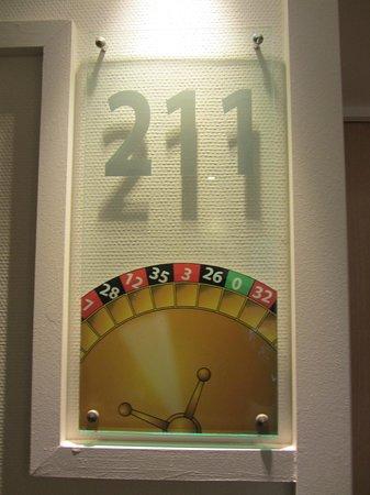 Grand Hotel Filippo : les numéros de chambre