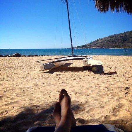 Oceano Palace: En la playa