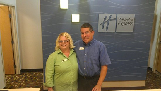 The Holiday Inn Express & Suites Marathon: Stacy and Oliver  are the best customer service hands down..
