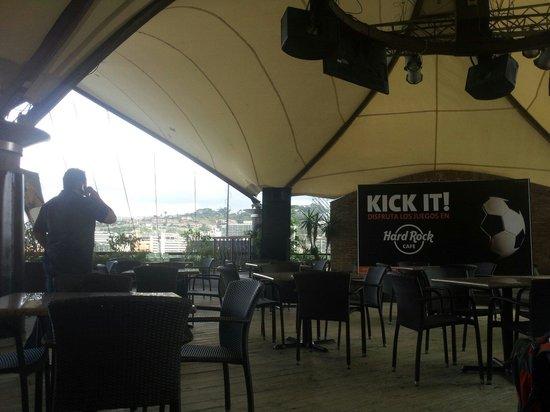 Hard Rock Café Caracas: Terraza