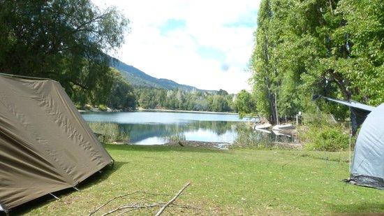Lago Steffen: Campamento