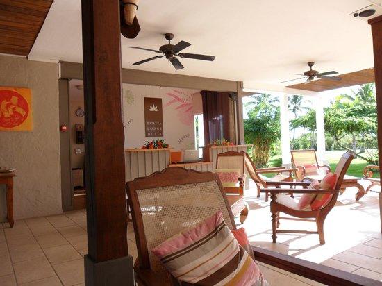 Raiatea Lodge Hotel : l embleme de l hotel la tiare endemique de raiatea