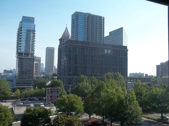 Aloft Atlanta Downtown: View from 6th floor room during the day