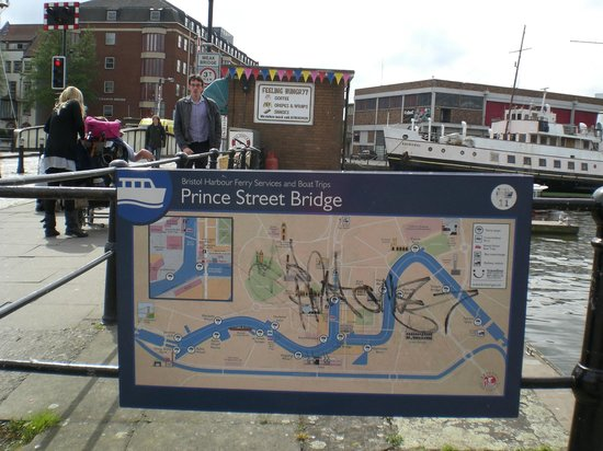"Bristol Ferry Boats: ""Correct"" Bridge that I should have crossed"