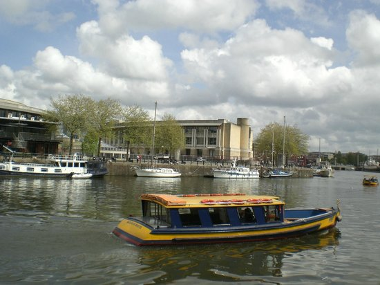 Bristol Ferry Boats: View from the ferry boat