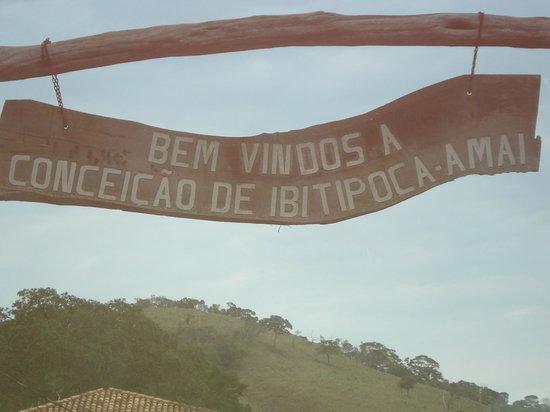 Parque Estadual do Ibitipoca : chegando no Arraial de Conceição de Ibitipoca
