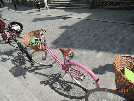 Tally Ho! Cycle Tours : Cute Bikes!