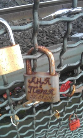 Hohenzollern Bridge : Русские тут