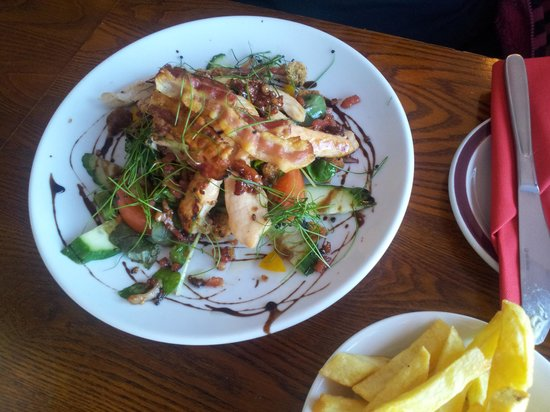 The Osborne : Hot chicken salad Beautiful