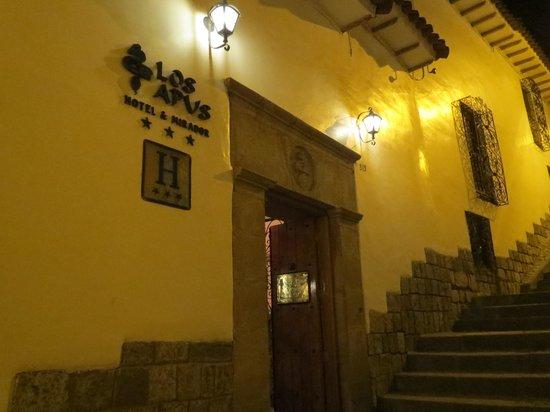 Los Apus Hotel & Mirador: beautiful entrance