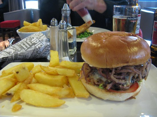 Best Western Plus White Horse Hotel: Good food
