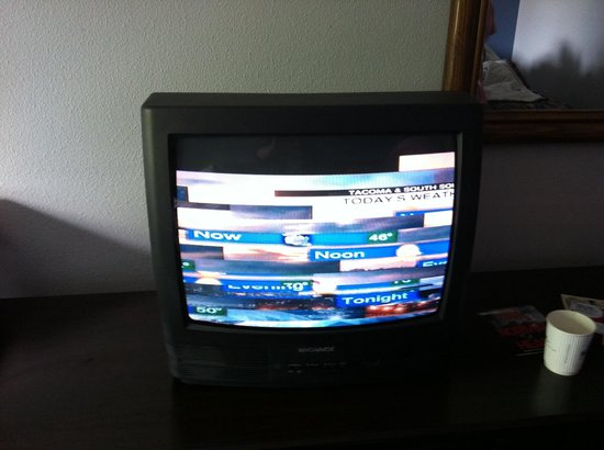 Days Inn Lacey Olympia Area: Television