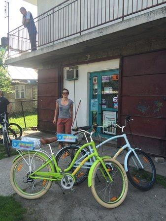 Krakow Bike Tour: Zwischendrin einkaufen.