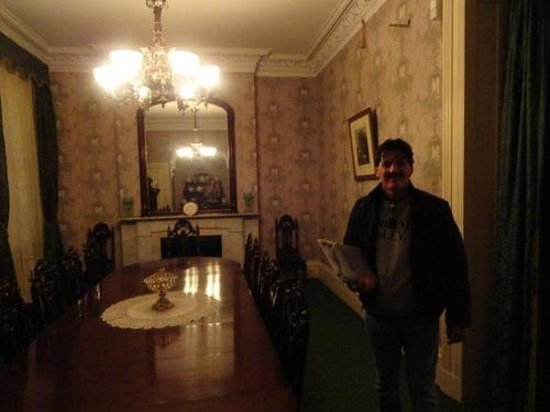 Theodore Roosevelt Birthplace National Historic Site: Inside TR's dining room.