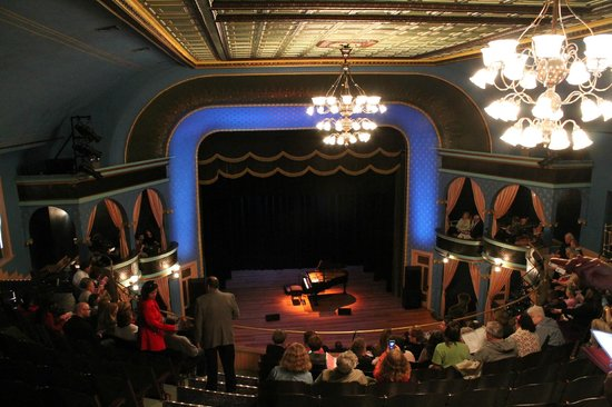 Stoughton, Stoughton Opera House, View from Balcony
