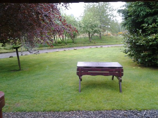 Wildside Highland Lodges : view from lodge