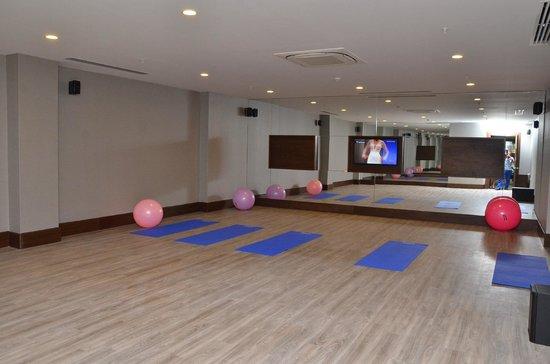Rixos Beldibi: pilatess room