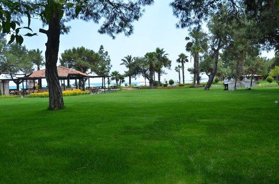 Rixos Beldibi: hotel's open area