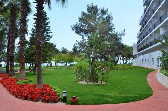 Rixos Beldibi: garden view