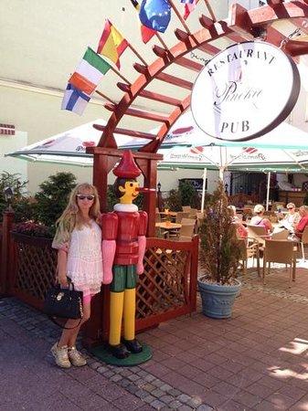 Pinokio Restaurant: Just ok.